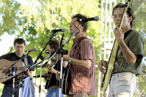 Bluegrass In The Park Festival, Henderson, KY, 2010.